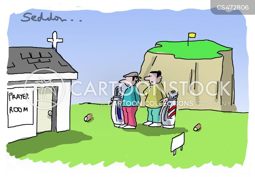 power of prayer cartoon