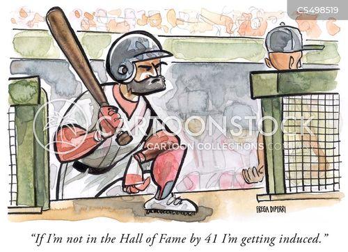 ball park cartoon
