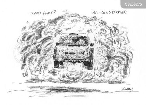sound barrier cartoon