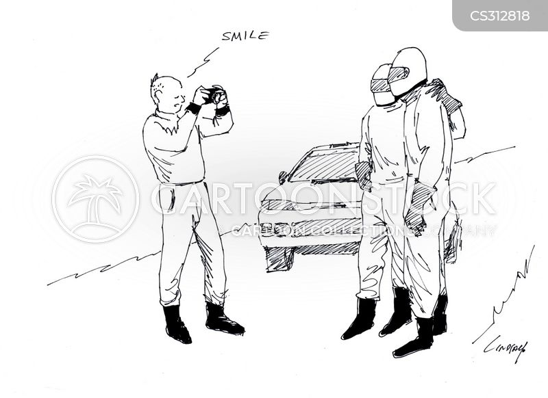 rally car cartoon