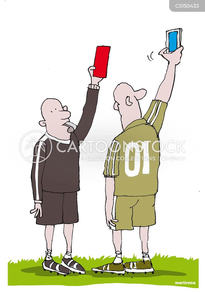 football official cartoon