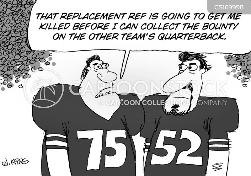 replacement referees cartoon