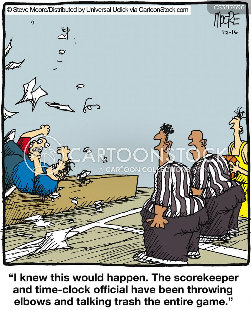 score keepers cartoon