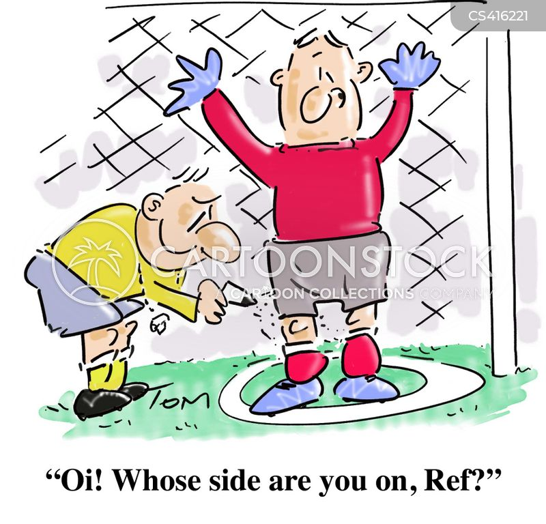 goalkeepers cartoon