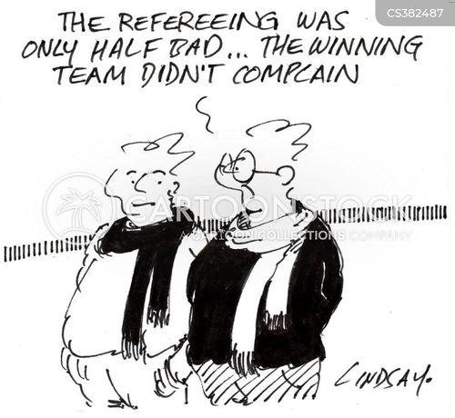 winning team cartoon