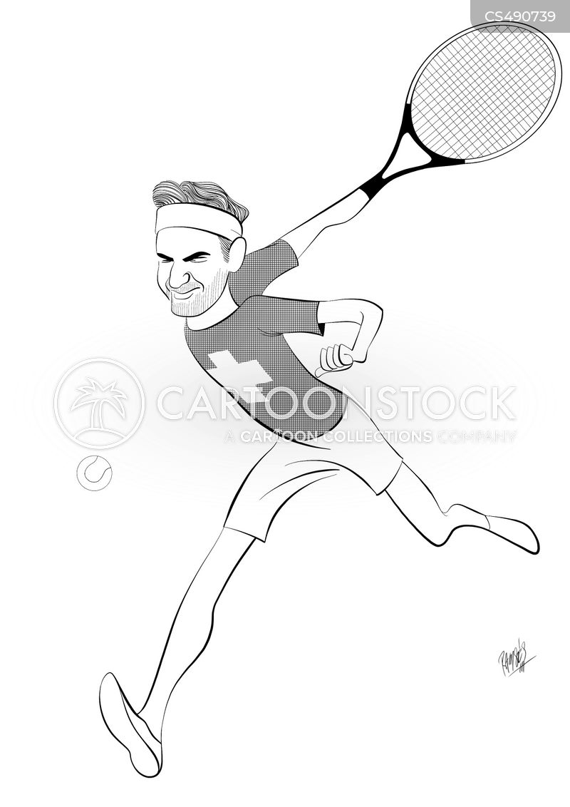 sport personalities cartoon
