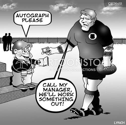 rugby fan cartoon