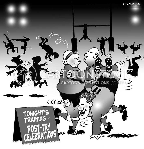 post try celebrations cartoon