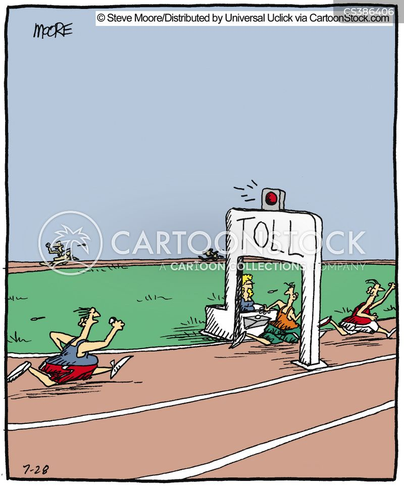sprinters cartoon