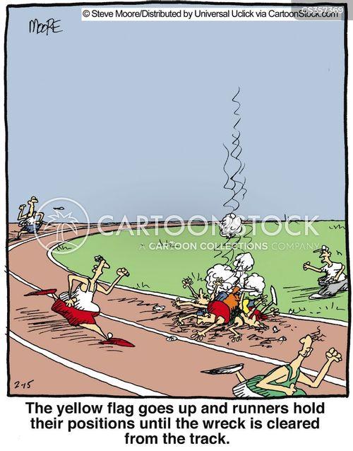 wreck cartoon