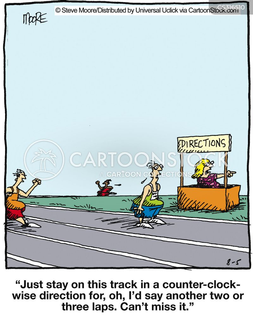 information point cartoon