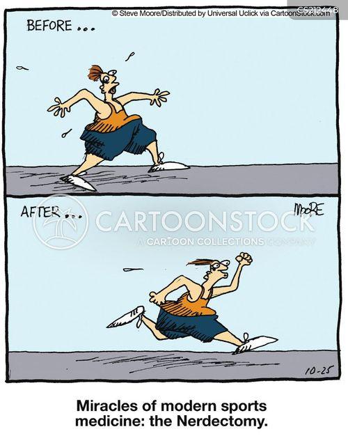 improved cartoon
