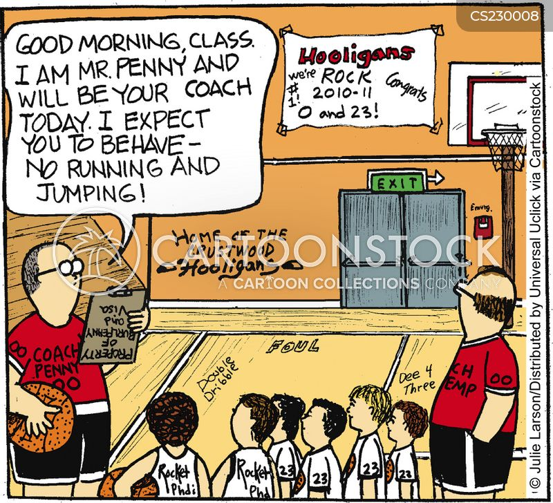 strict teachers cartoon