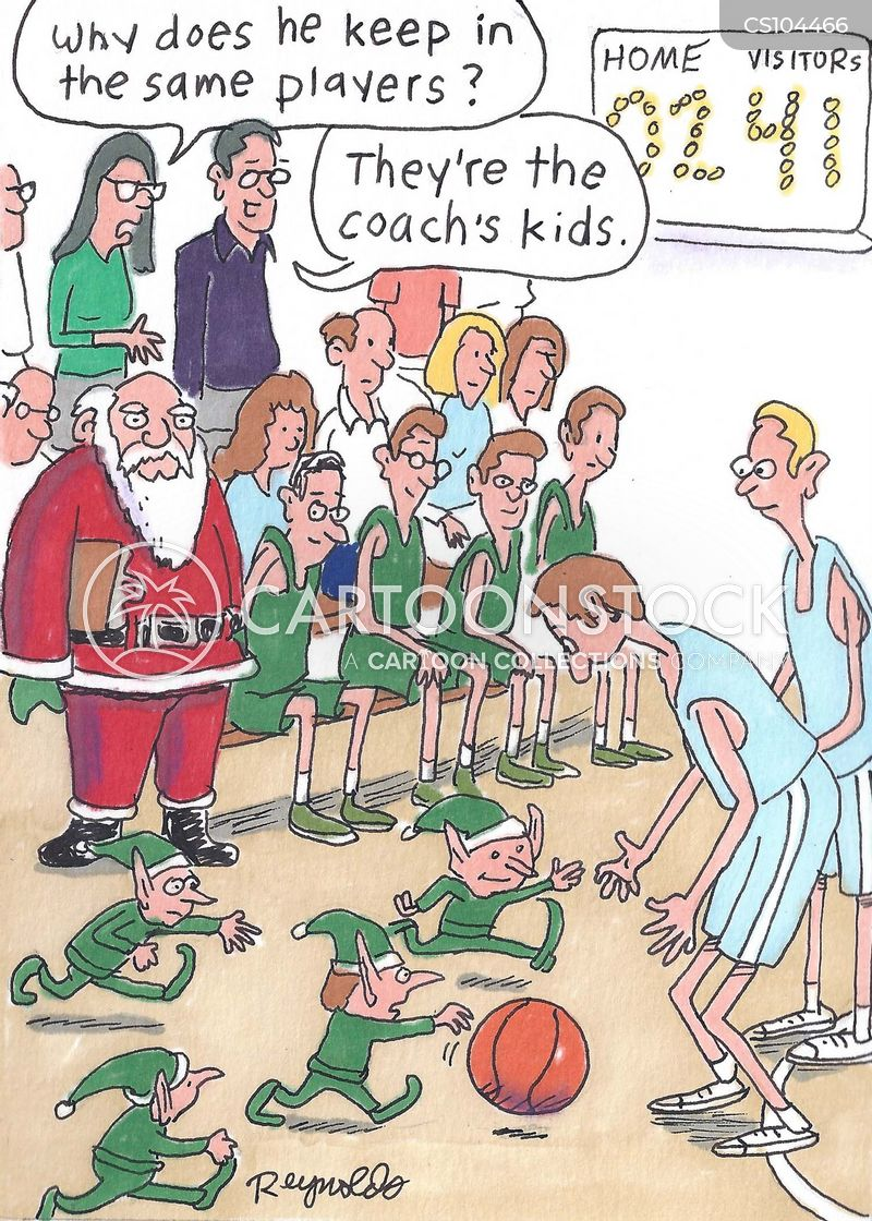 Basketball Coach Cartoons and Comics - funny pictures from CartoonStock