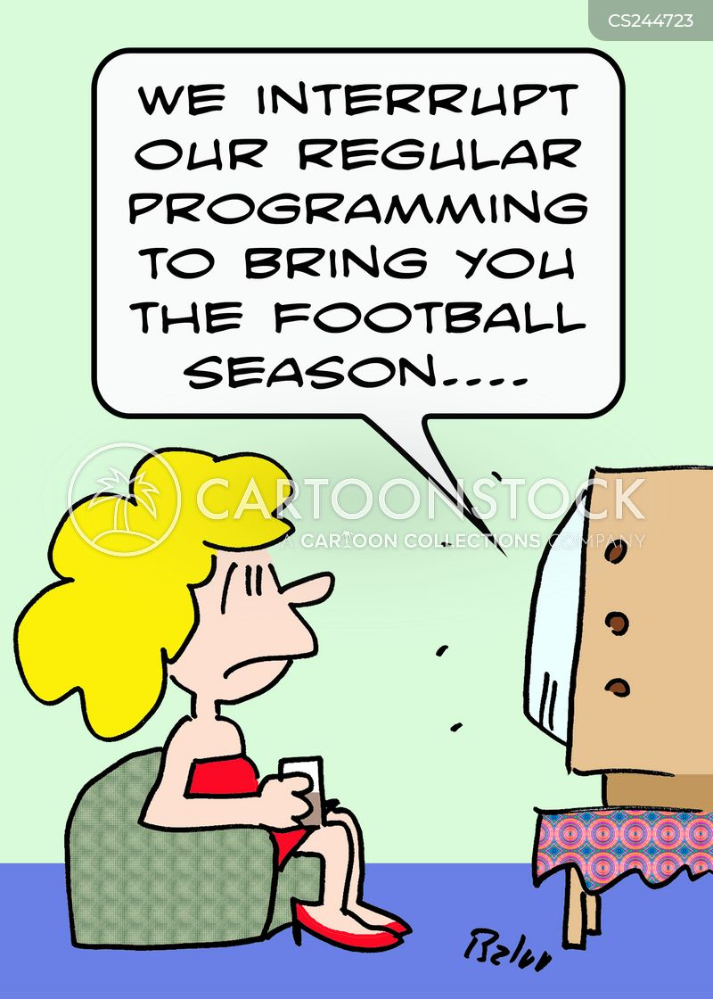 sports program cartoon