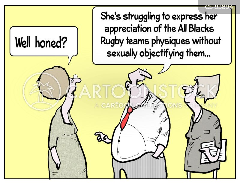 rugby team cartoon