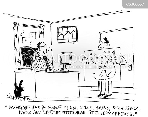game plan cartoon