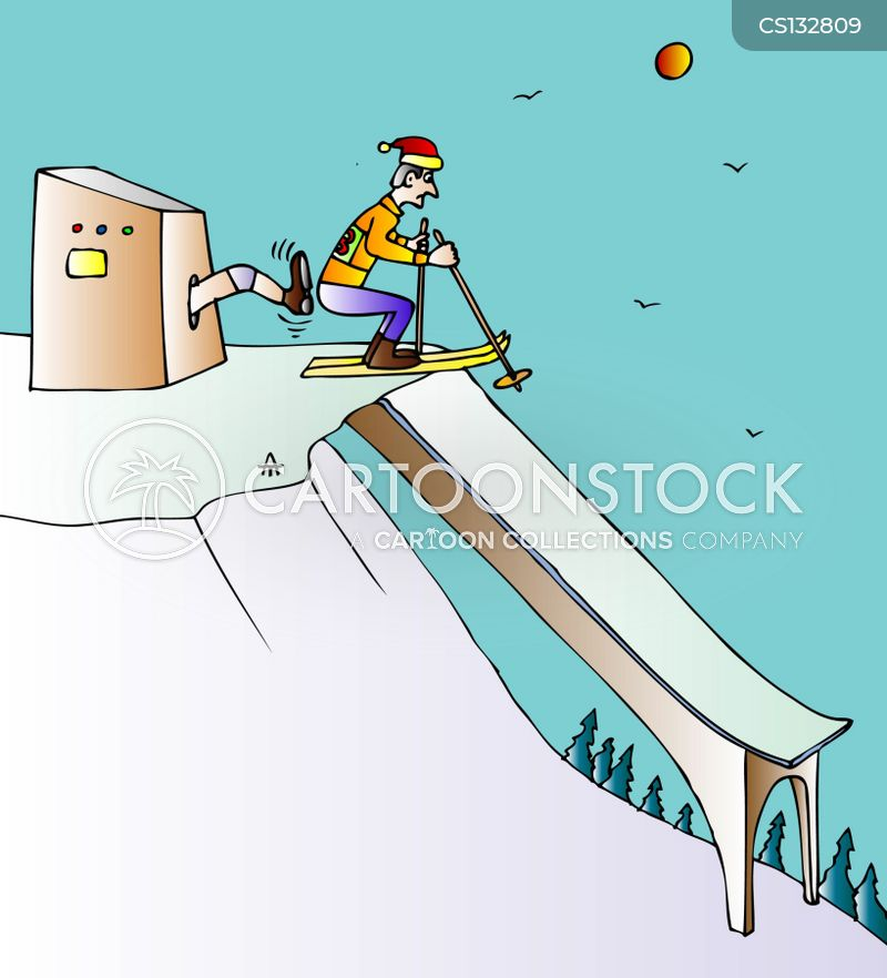 winter-sports cartoon
