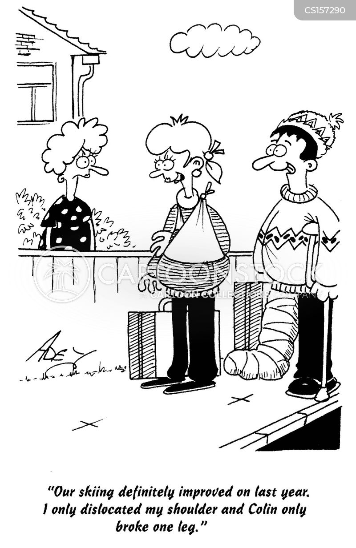 dislocated cartoon