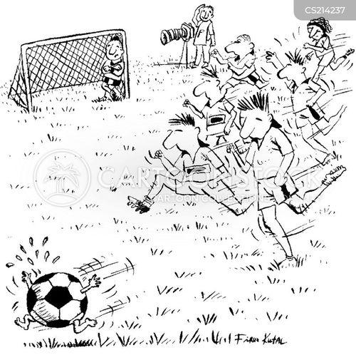 soccer balls cartoon
