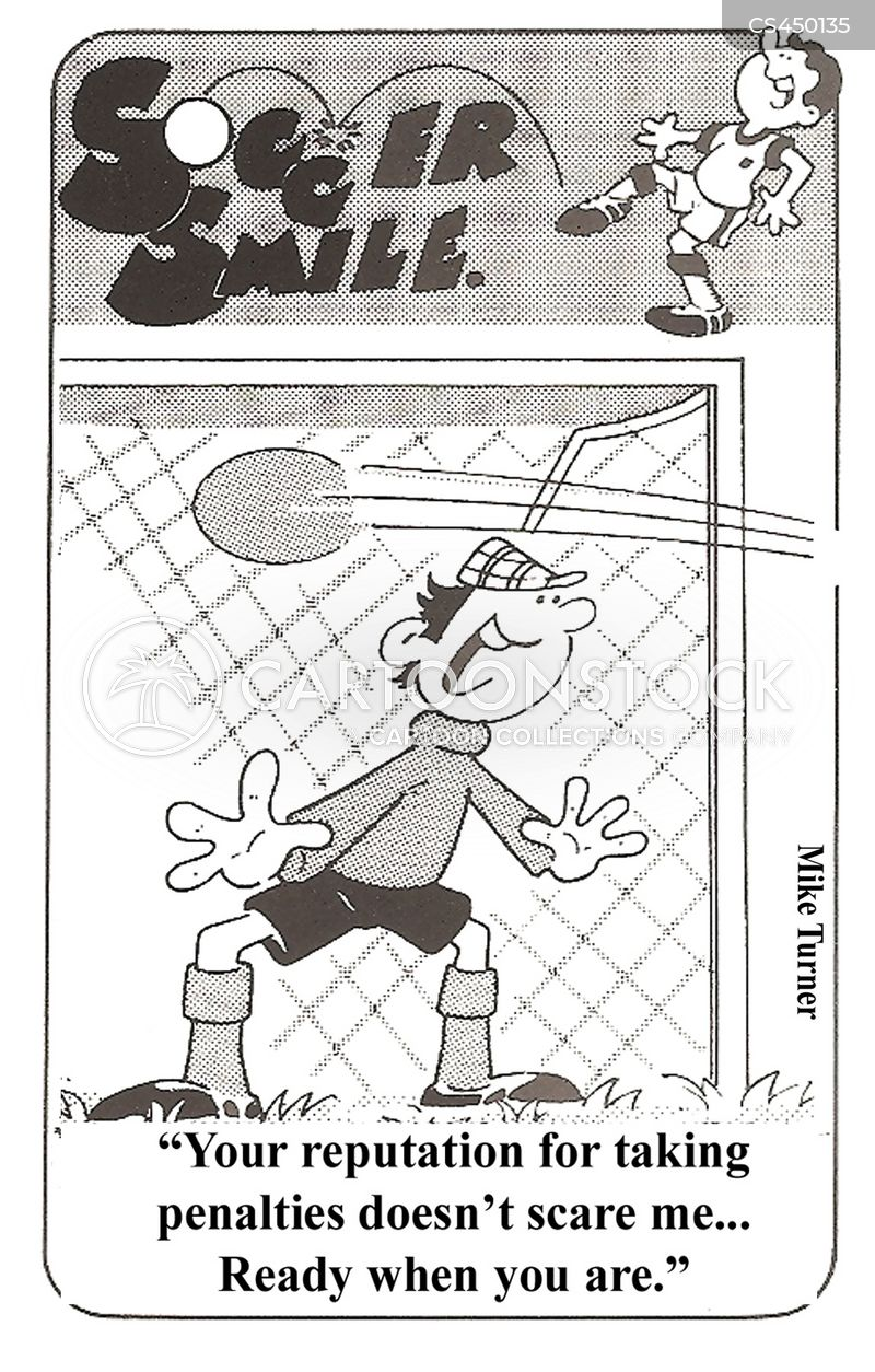 goalkeepers cartoon