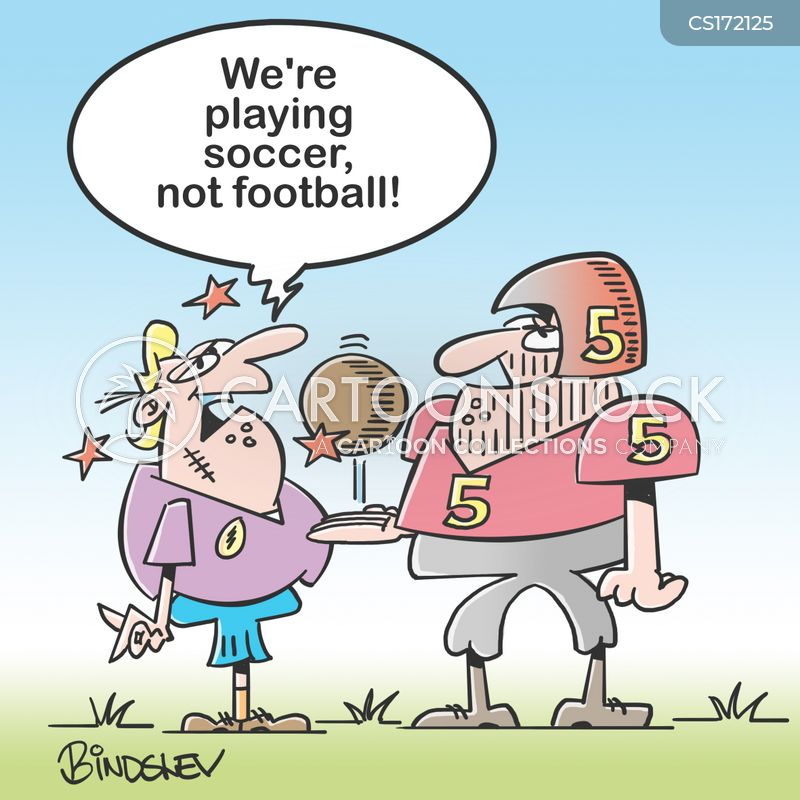 national football league cartoon