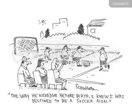 soccer mom cartoon