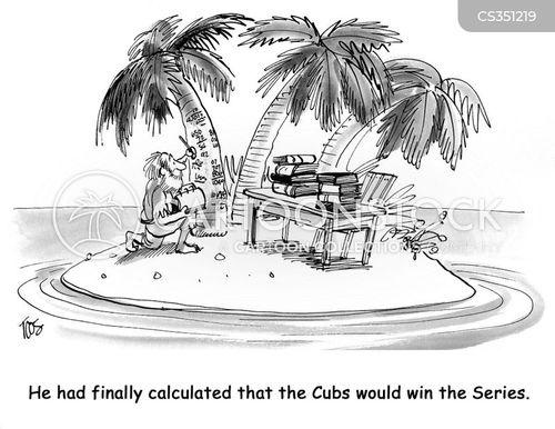 baseball statistics cartoon
