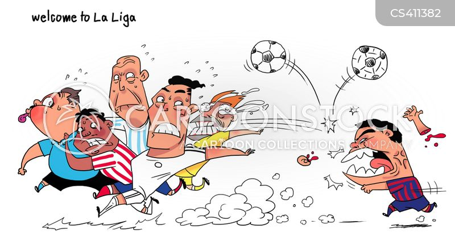 spanish football cartoon