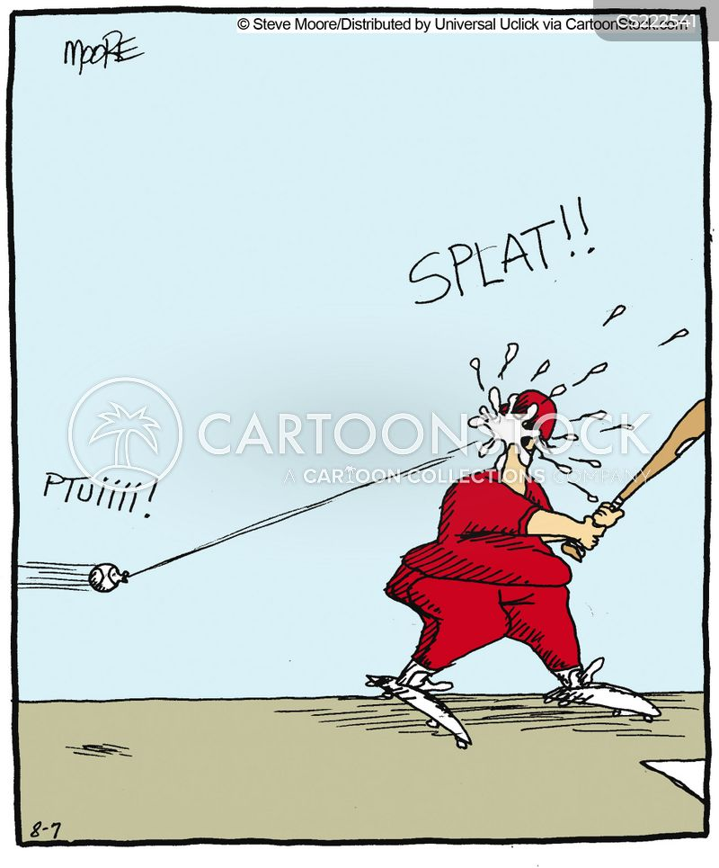 spit balls cartoon