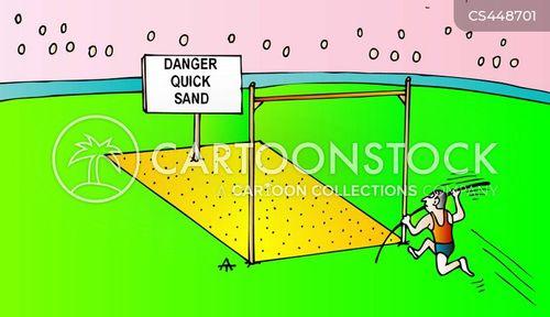 quick sand cartoon