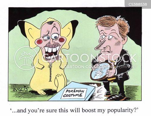 contracted cartoon