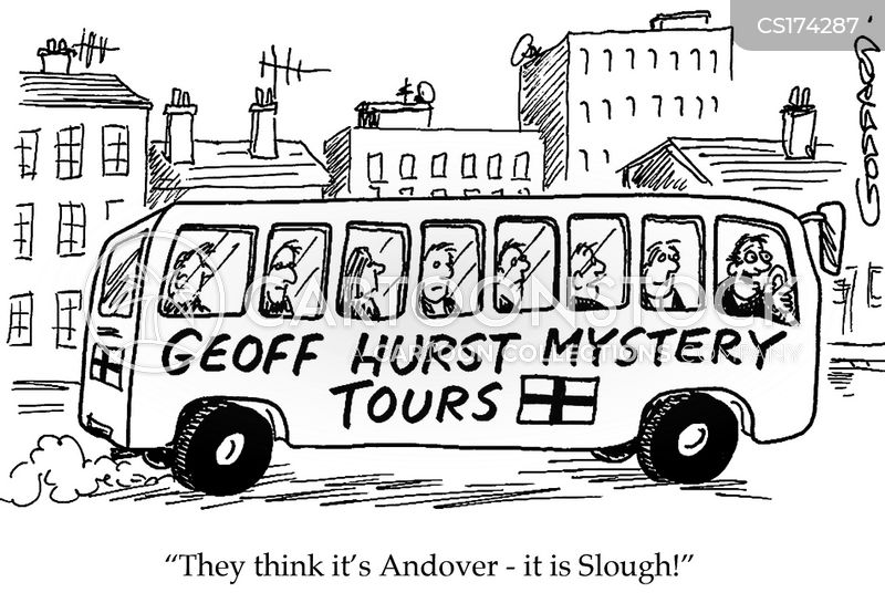 coach trip cartoon