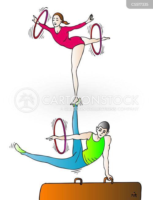 sportspeople cartoon
