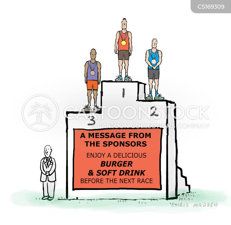 sponsorships cartoon