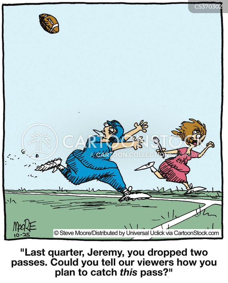 sport reporters cartoon