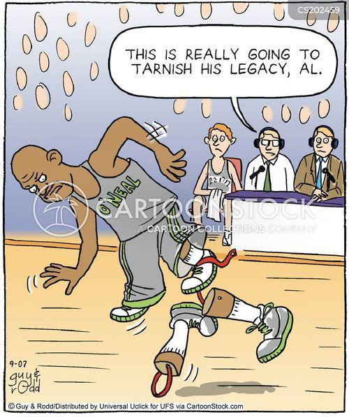 fake limb cartoon