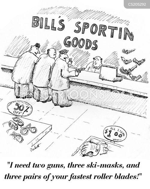 sports wear cartoon