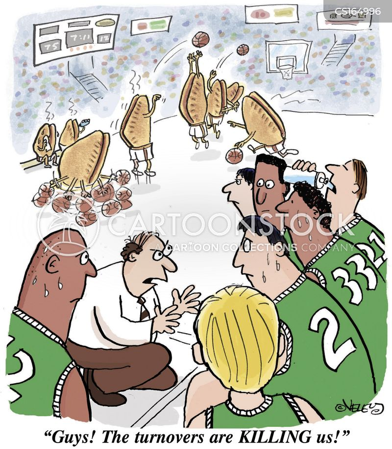 athletes cartoon