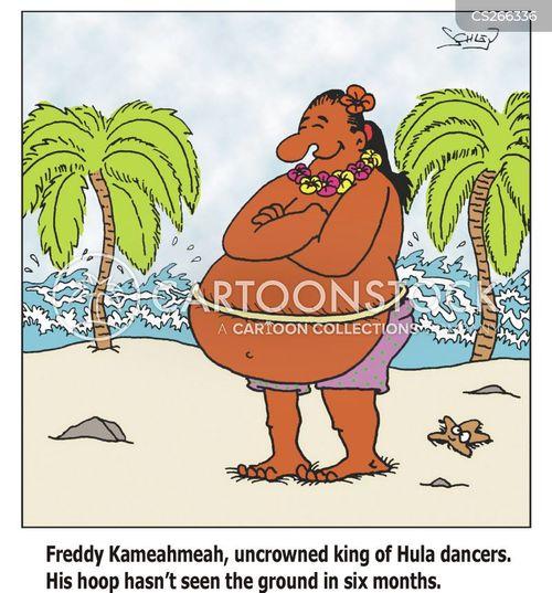 hula hoops cartoon