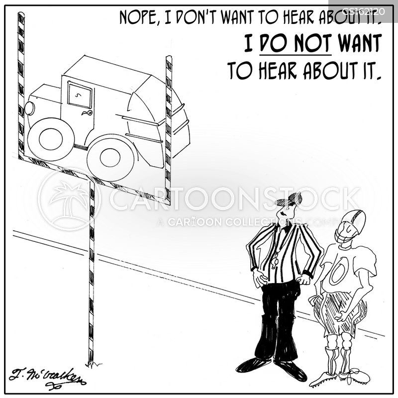 goal post cartoon