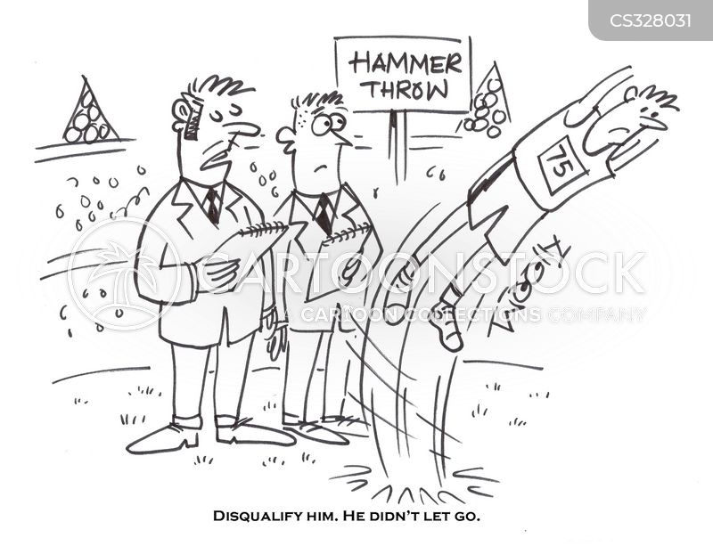 sports event cartoon