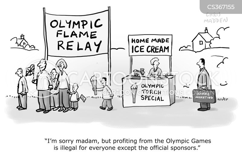 london 2012 cartoon