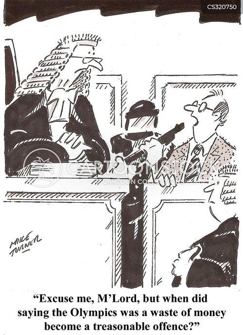 olympic budget cartoon
