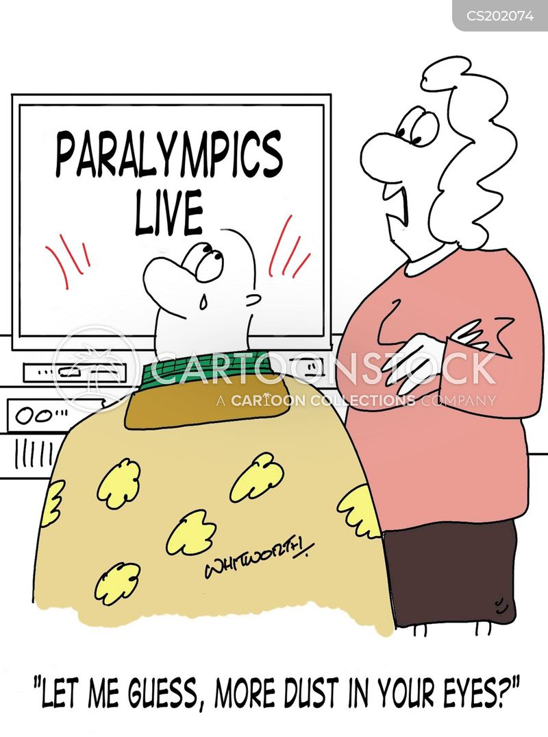 paralympics cartoon