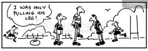 half back cartoon