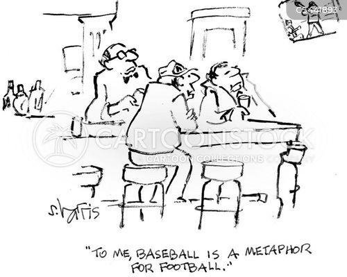 sport metaphor cartoon
