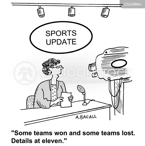 sports channels cartoon