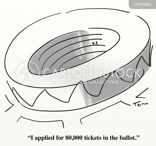 sport stadium cartoon