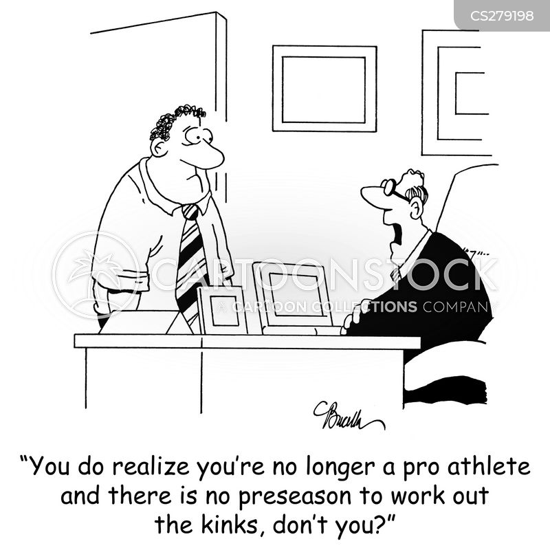 athlets cartoon